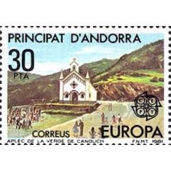 Andorre espagnol N° 0132 N**