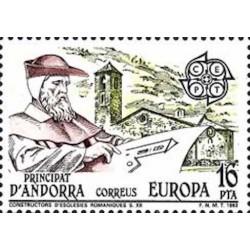 Andorre espagnol N° 0158 N**