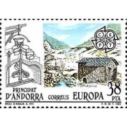 Andorre espagnol N° 0159 N**