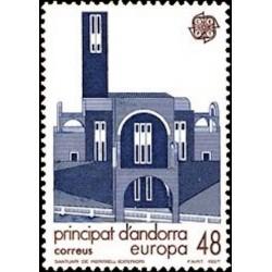Andorre espagnol N° 0184 N**