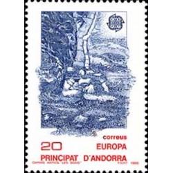 Andorre espagnol N° 0190 N**