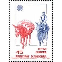 Andorre espagnol N° 0191 N**