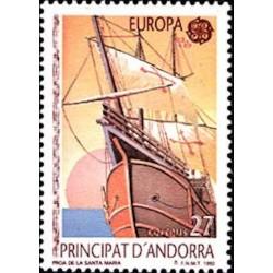 Andorre espagnol N° 0216 N**