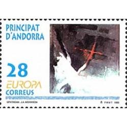 Andorre espagnol N° 0222 N**