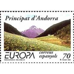 Andorre espagnol N° 0257 N**