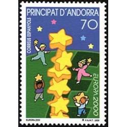 Andorre espagnol N° 0261 N**