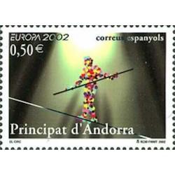 Andorre espagnol N° 0280 N**