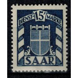 Sarre Service N°  34 Obli