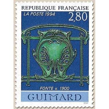 FR N° 2855 Oblitere