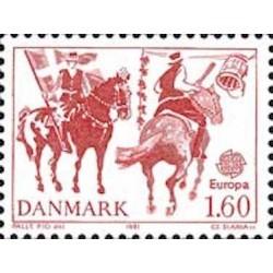 Danemark N° 0733 N**