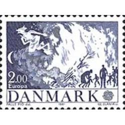 Danemark N° 0734 N**