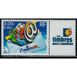 Timbre personnalise N° 3365B/1