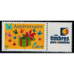 Timbre personnalise N° 3480A/1