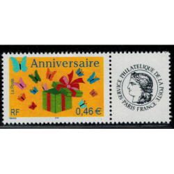 Timbre personnalise N° 3480A/2