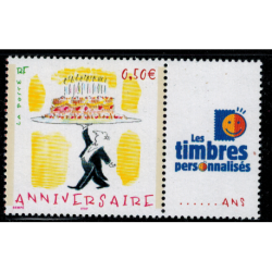 Timbre personnalise N° 3688A1