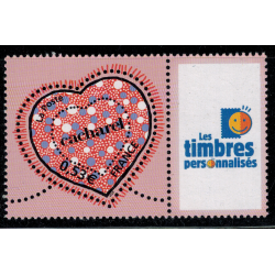 Timbre personnalise N° 3747A