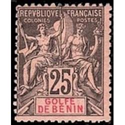 Benin N° 027 Obli