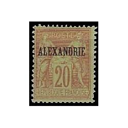 Alexandrie N°  10 Obli