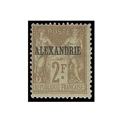 Alexandrie N°  17 Obli