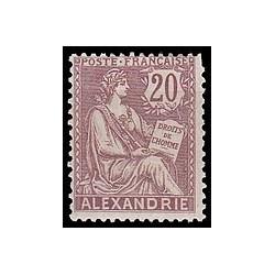 Alexandrie N°  26 Obli