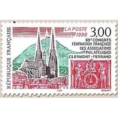 FR N° 3004 Oblitere