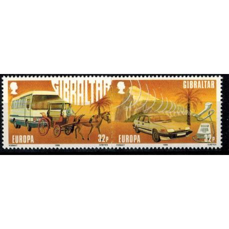 Gibraltar N° 0557/558 N**
