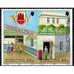 Gibraltar N° 0601/602 N**