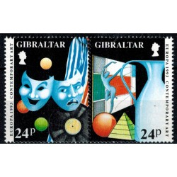Gibraltar N° 0663/664 N**