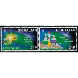 Gibraltar N° 0692/693 N**