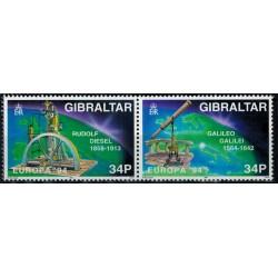 Gibraltar N° 0694/695 N**