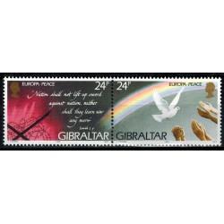 Gibraltar N° 0719/720 N**