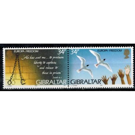 Gibraltar N° 0721/722 N**