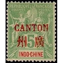 Canton N° 005 Obl