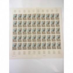 Feuille Complete du N° 1522 x50 Neuf  **