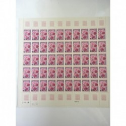 Feuille Complete du N° 1528 x50 Neuf  **