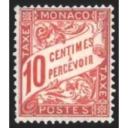 Monaco TA Neuf ** N° 0003
