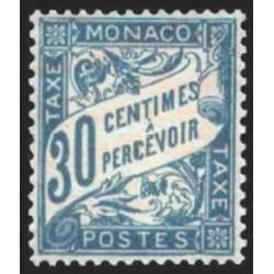 Monaco TA Neuf ** N° 0006