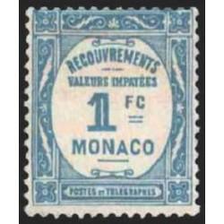 Monaco TA N° 0027  N **