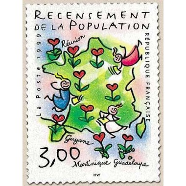 FR N° 3223 oblitèré