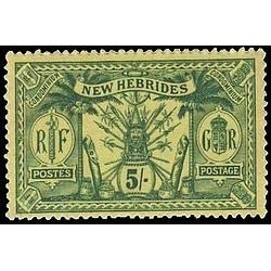 Nouvelles Hebrides N° 057 N*