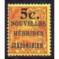 Nouvelles Hebrides N° 058 N*