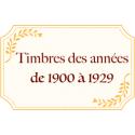 FR 1900-1929 N**