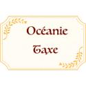 OCEANIE Taxe