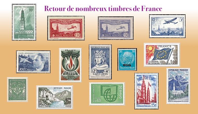 Plus de choix de timbres