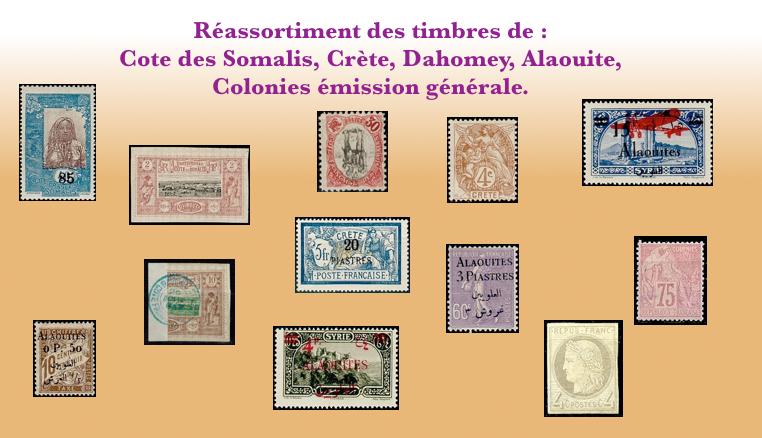 Les timbres non dentelés de Nouvelle Calédonie