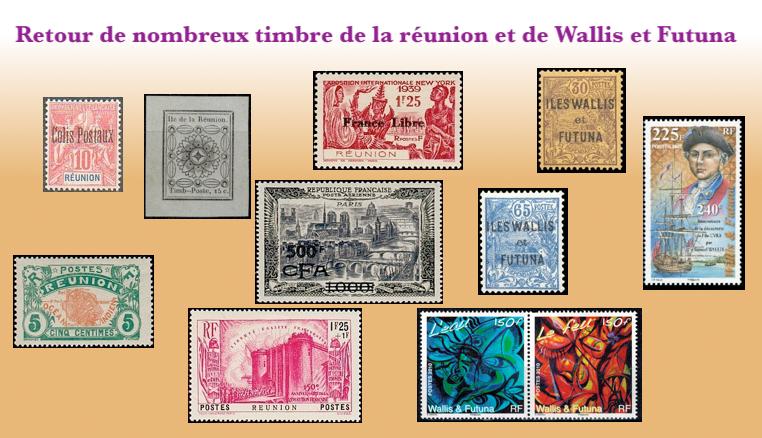 Retour Réunion et Wallis et Futuna