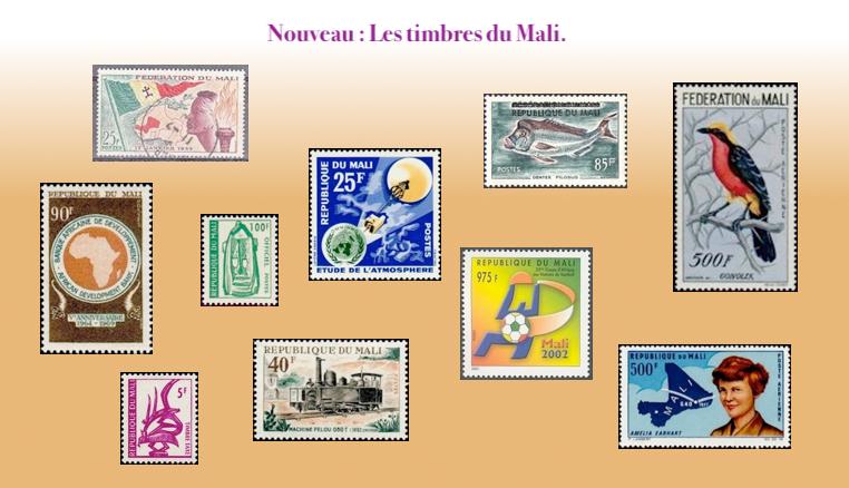 les timbres du Mali