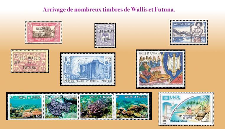 Les timbres de Wallis et Futuna