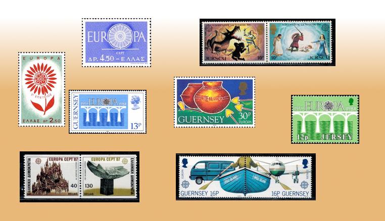 Plus de choix de timbres d'Europa