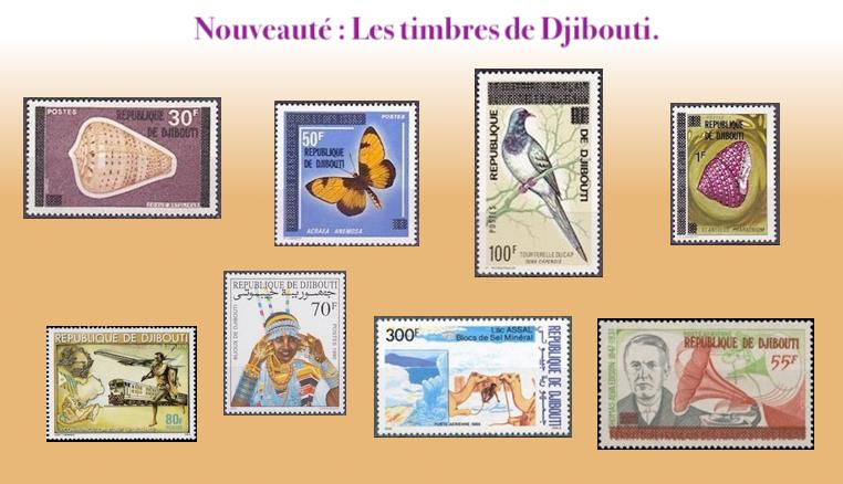 Les timbres de Djibouti